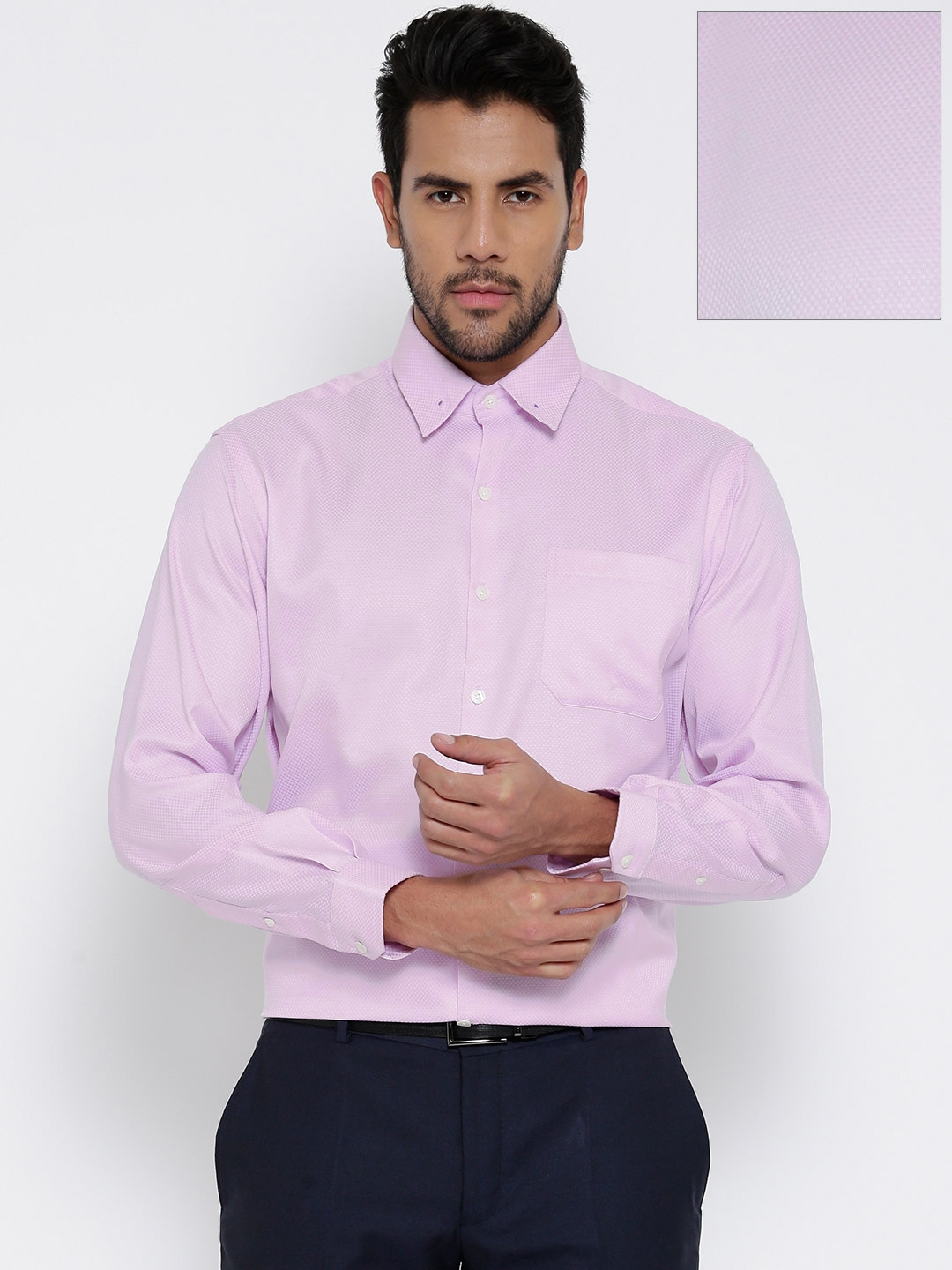 Buy Wills Lifestyle Light Pink Formal Shirt - Shirts for Men | Myntra