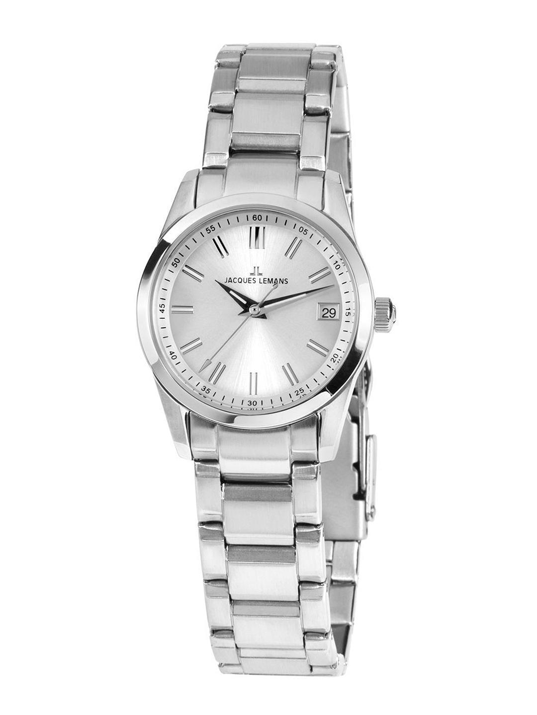 Jacques Lemans Women Silver Toned Analogue Watch 1 1811B