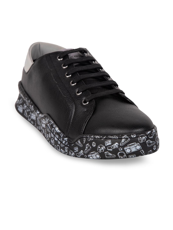 Duke Men Black Sneakers - Casual Shoes