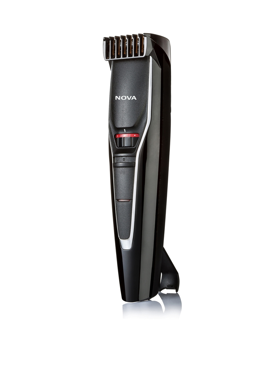 NOVA Men NHT 1091 Pro Cut Cordless Trimmer   Black
