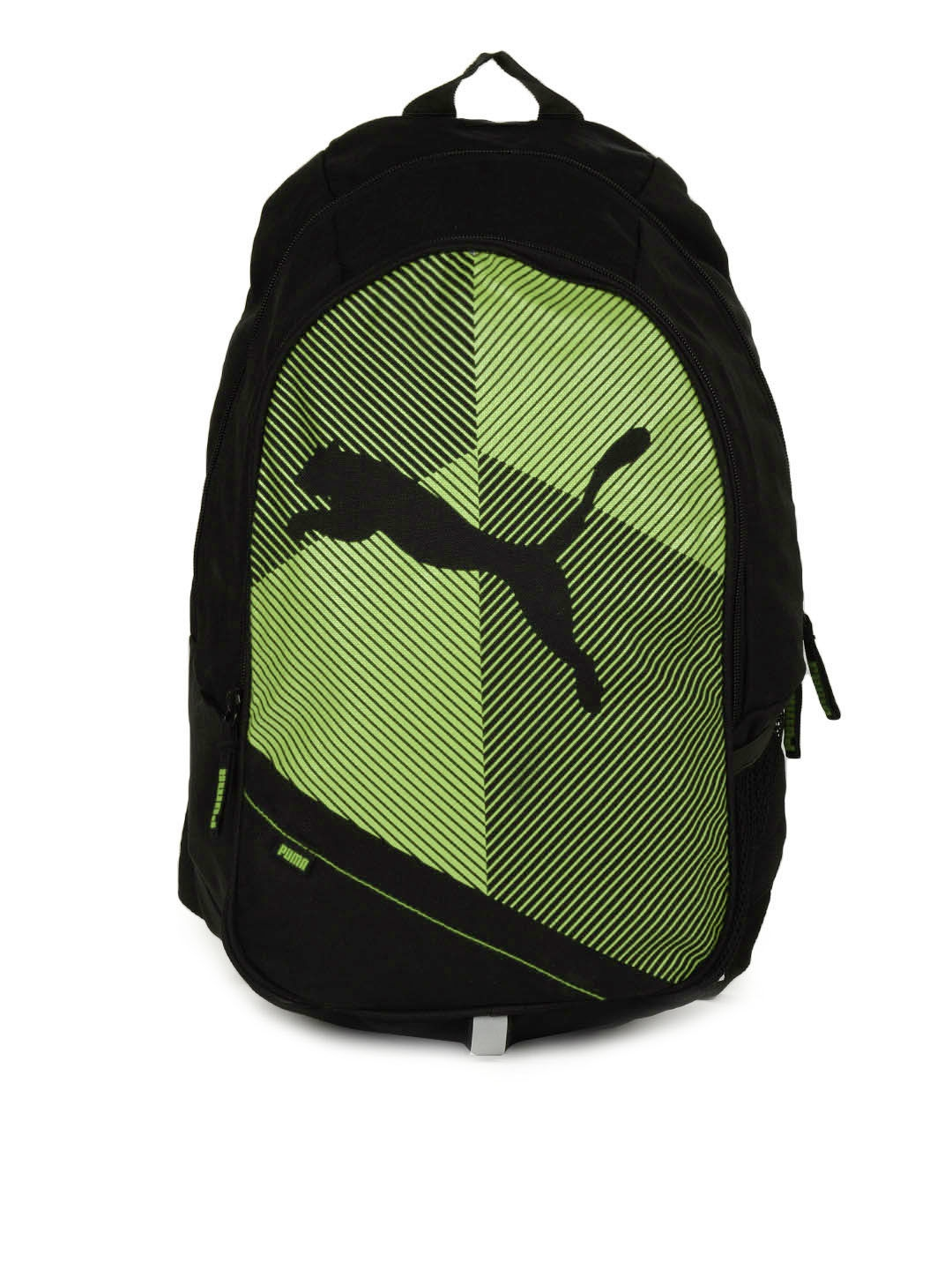 Buy Puma Unisex Black   Green Echo Plus Classic Printed Backpack - Backpacks  for Unisex 96192  52cf3ca7442ff
