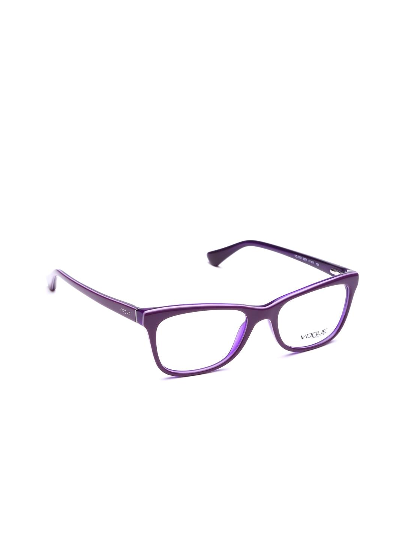 Buy Vogue Men Purple Square Frames 0VO2714227752 - Frames for Men ...