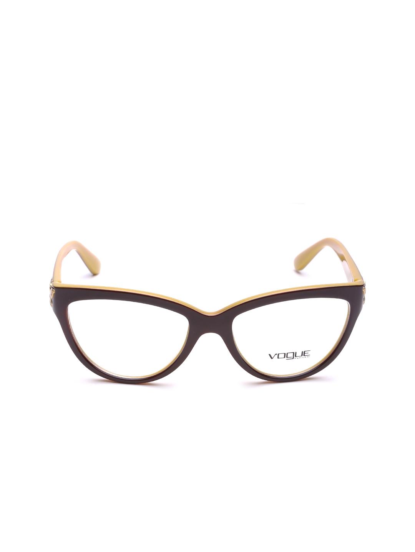 d6182d187b Buy Vogue Women Brown Cat Eye Frames 0VO2865218454 - Frames for ...