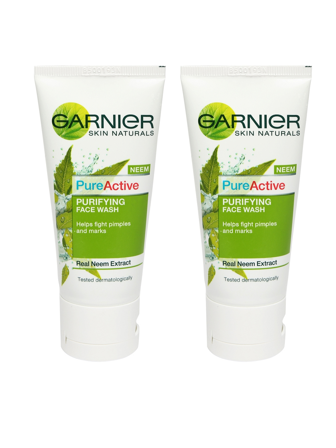 Garnier Set of 2 Pure Active Neem Purifying Face Washes