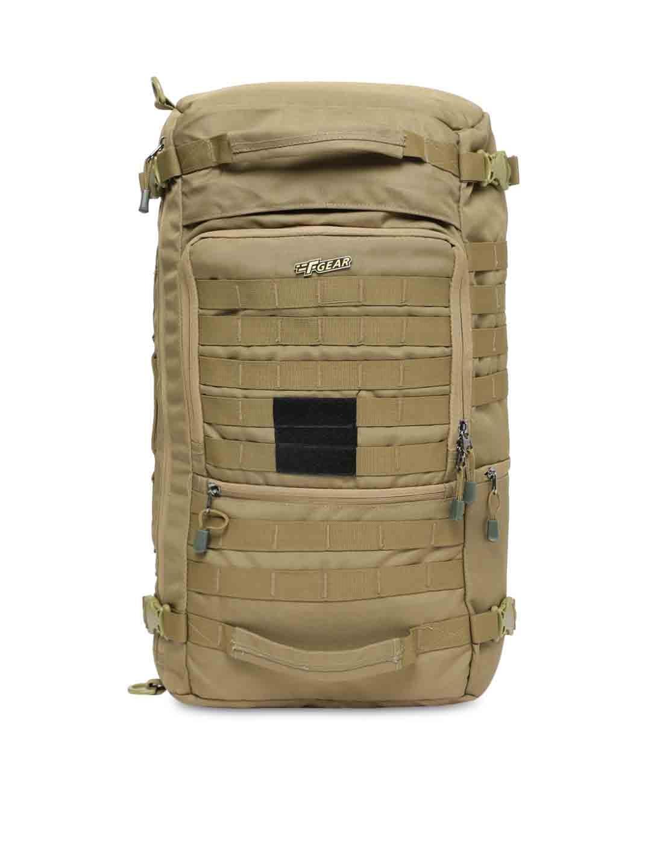 F Gear Unisex Khaki Military Garrison Laptop cum Backpacks
