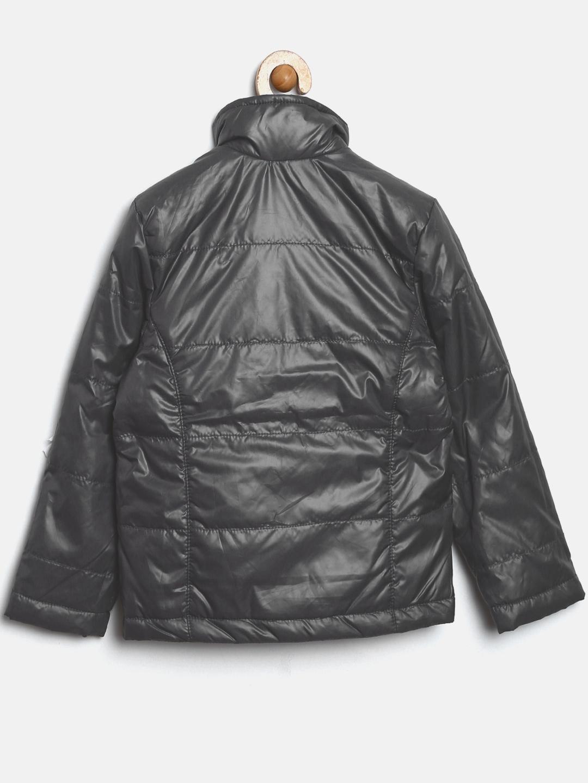 fb3621cc5 Buy Allen Solly Junior Boys Charcoal Grey Padded Jacket - Jackets ...