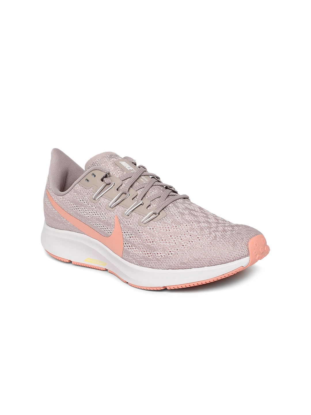 outlet store 62522 18b4b Nike Women Taupe Air Zoom Pegasus 36 Running Shoes