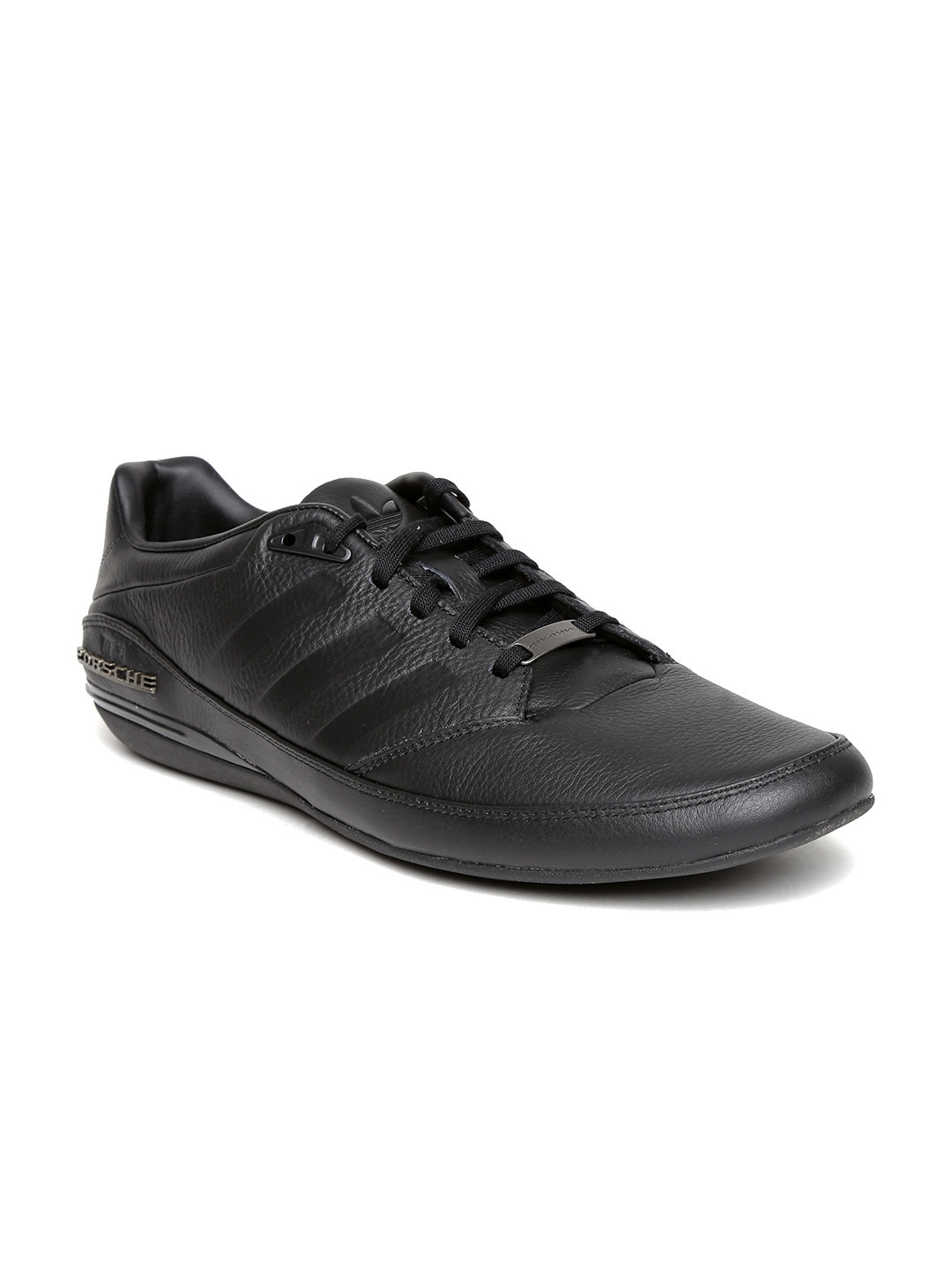 best service 31048 8b011 Porsche Design by ADIDAS Originals Men Black Leather Casual Shoes