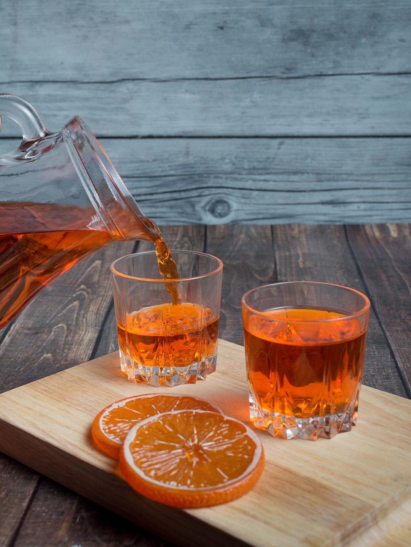 Pasabahce Transparent Set of 6 Karat Juice Tumbler