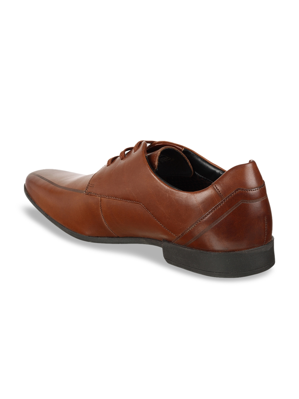 Buy Clarks Men Brown Leather Formal