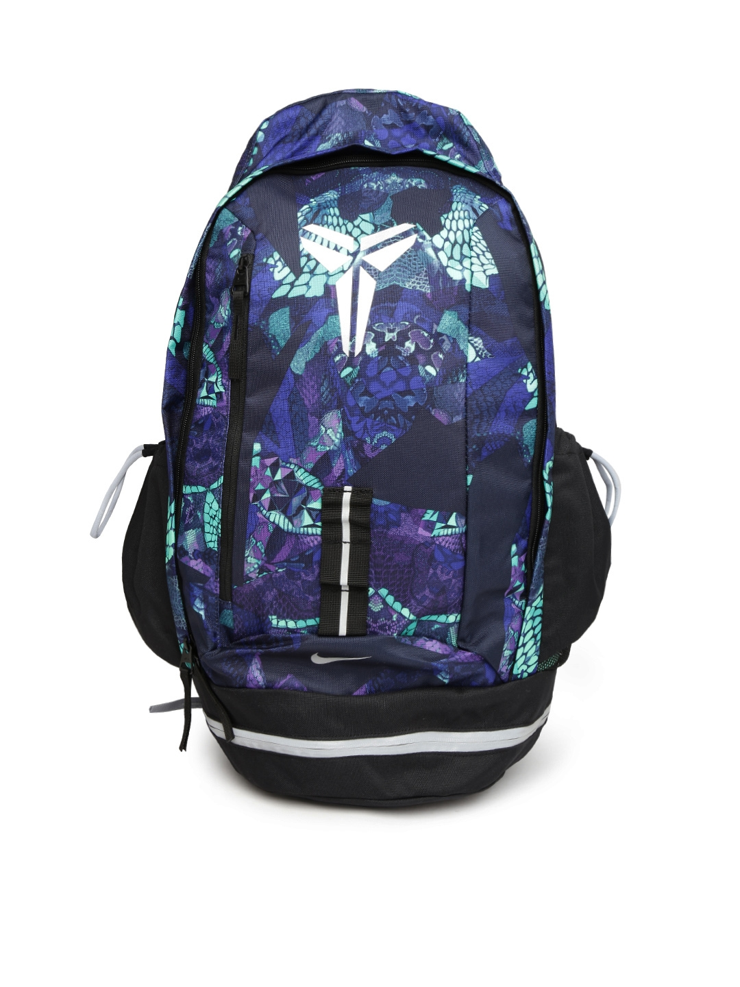 6ed2fdf52595 Buy Nike Men Blue   Green Printed Kobe Mamba X Backpack - Backpacks for Men  993171