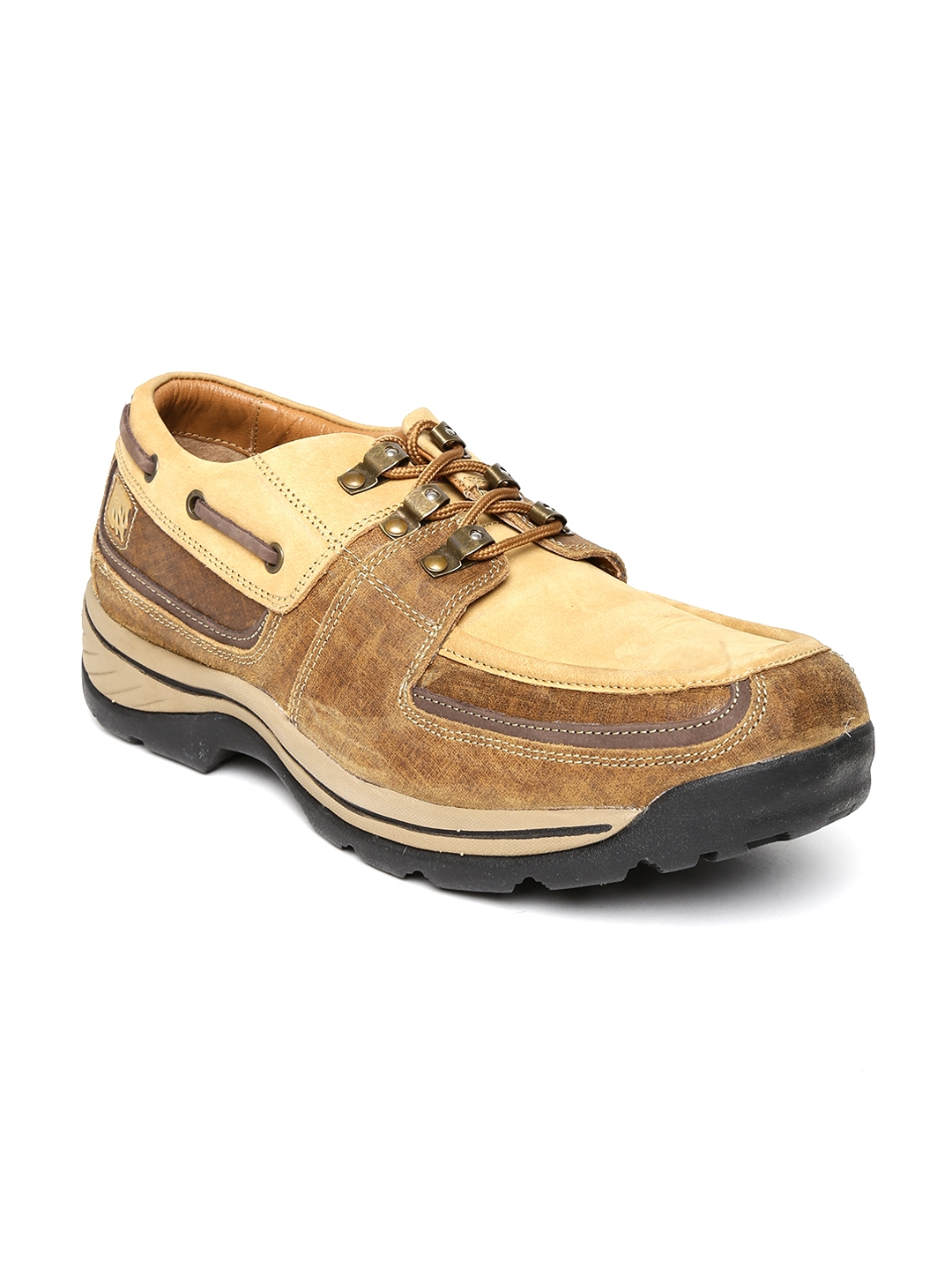 820d22263a6e Buy Woodland ProPlanet Men Camel Brown Leather Casual Shoes - Casual ...