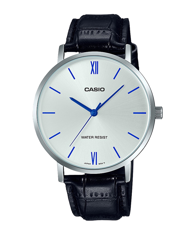 Casio Enticer Men Silver Analogue watch A1617 MTP VT01L 7B1UDF