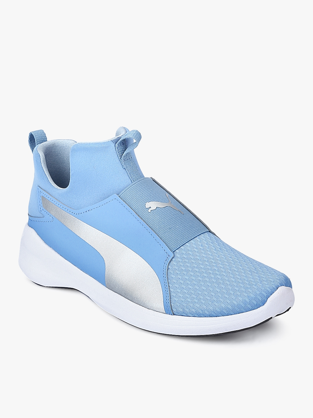 240670b91c2e Buy Puma Rebel Mid Blue Sneakers - Casual Shoes for Women 7633638 ...
