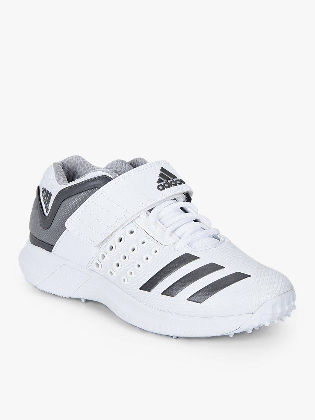 Buy Adipower Vector Mid White Cricket Shoes - Sports Shoes for Men ... c4e46cf92