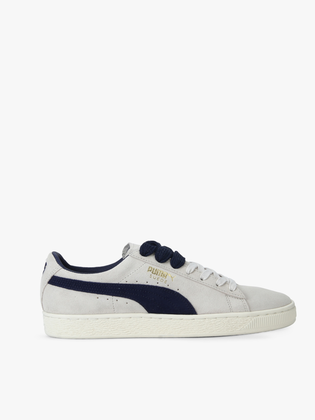 Buy Suede Classic Archive Birch Peacoat Beige Sneakers - Casual ... 7202c2b23