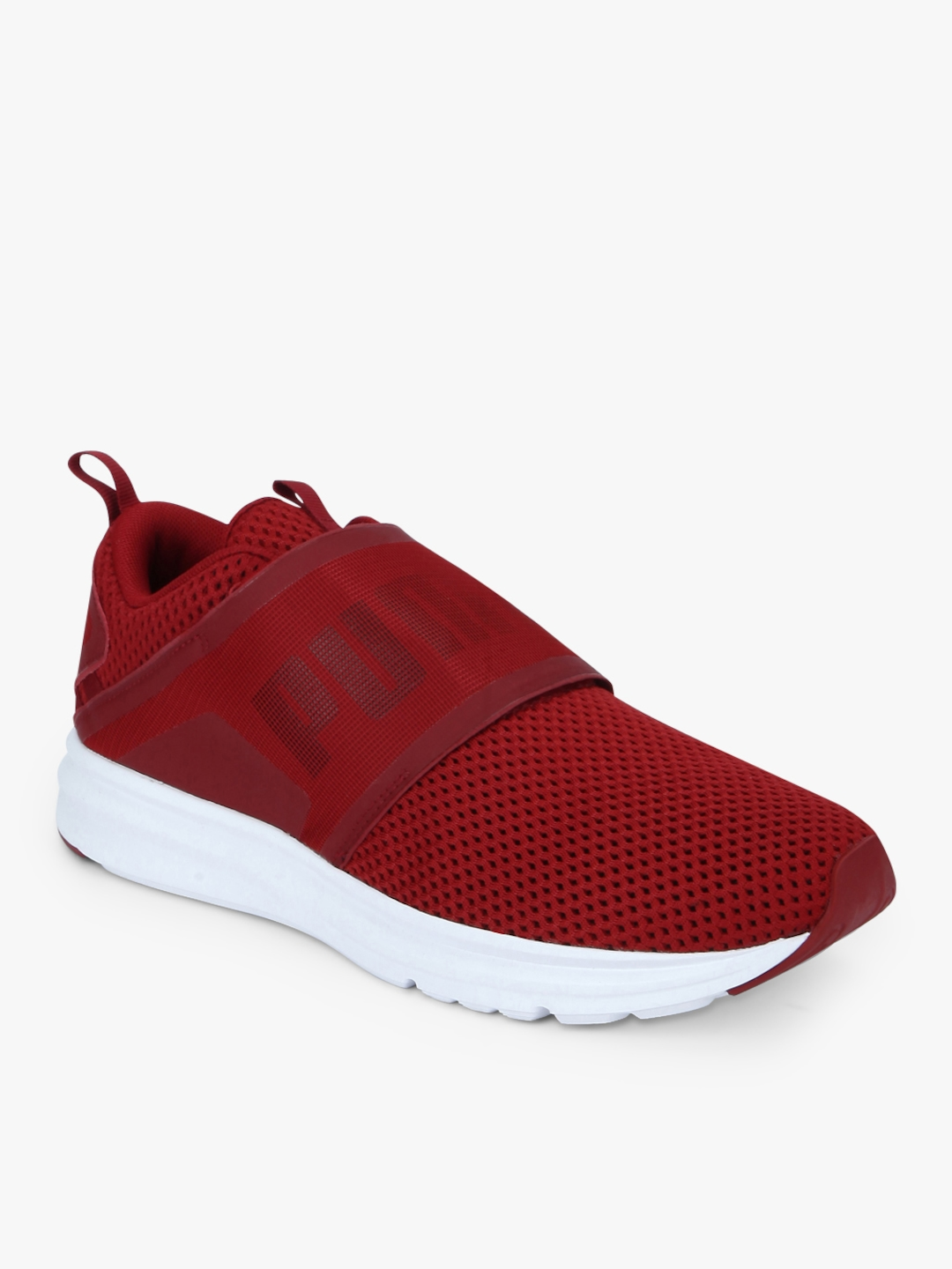 823b01f456 Buy Enzo Strap Mesh Red Sneakers - Casual Shoes for Men 7633855 | Myntra