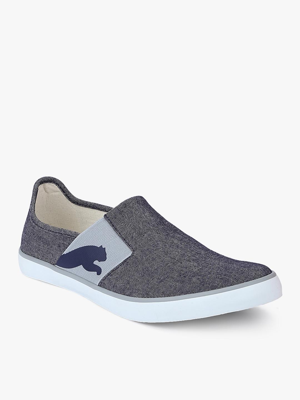 8e69903de7a03c Lazy Slip On Ii Dp Peacoat-Puma White-Qu Navy Blue Slip-On Sneakers
