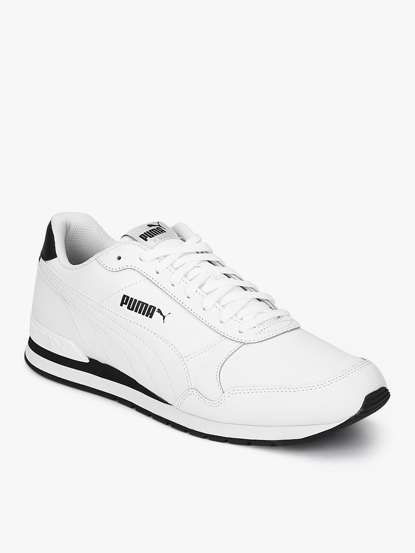 Buy Puma Men St Runner V2 Full L White