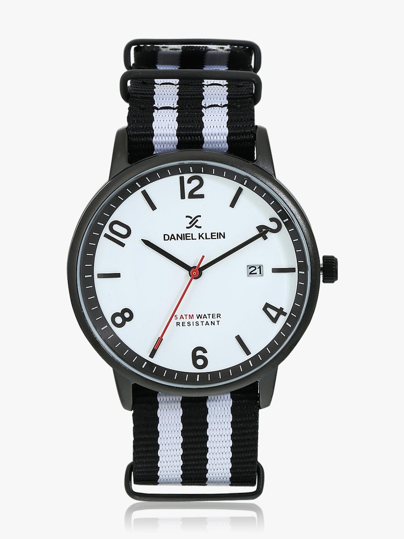 White/White Analogue Watch Daniel Klein Watches