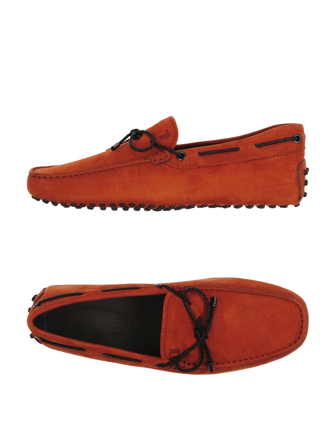 f3f67f9050 Buy Tods Men Rust Red Driving Shoes - Casual Shoes for Men 7756398 ...