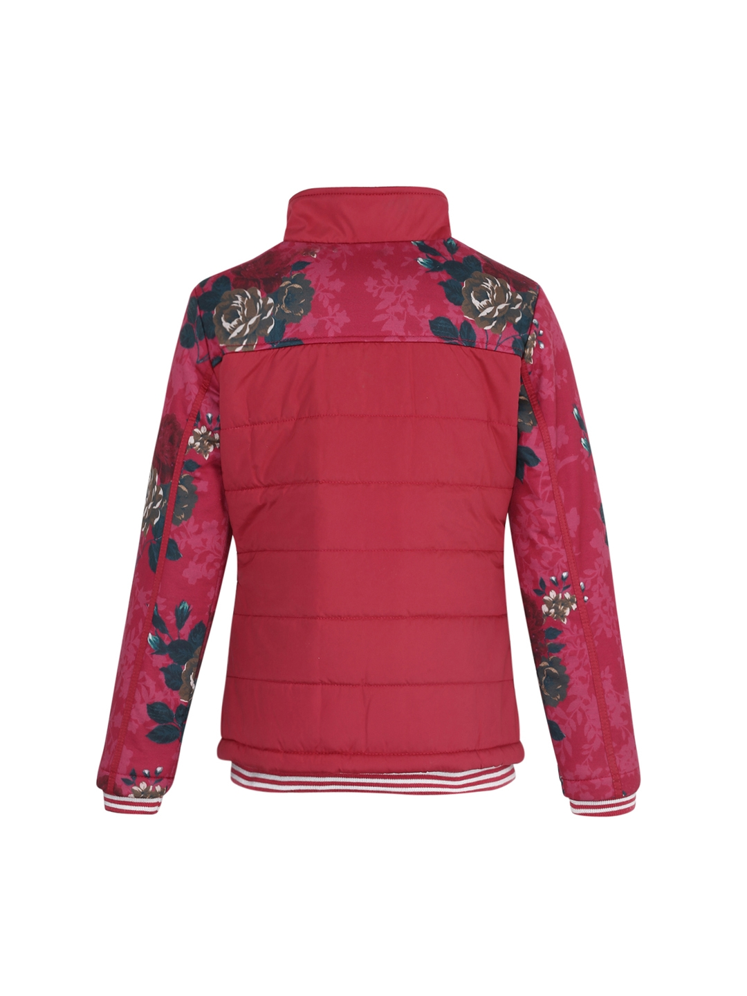 f76aa5140575 Buy Monte Carlo Girls Pink Printed Lightweight Quilted Jacket ...