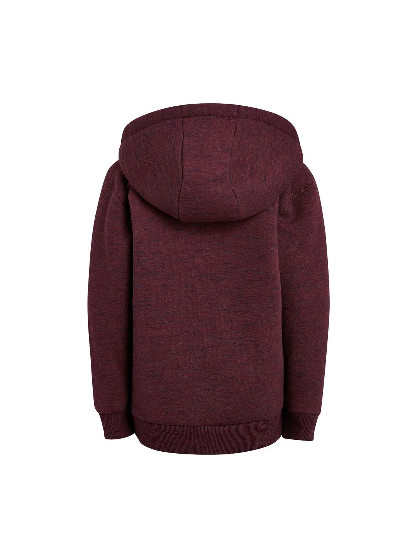 31868de3 Buy Next Boys Maroon Solid Hooded Sweatshirt - Sweatshirts for Boys ...