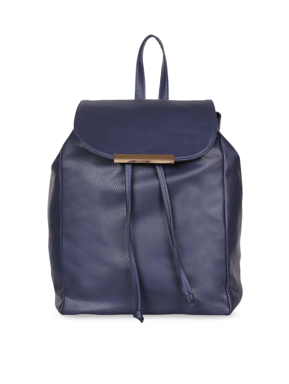 Lychee bags Blue Solid Shoulder Bag
