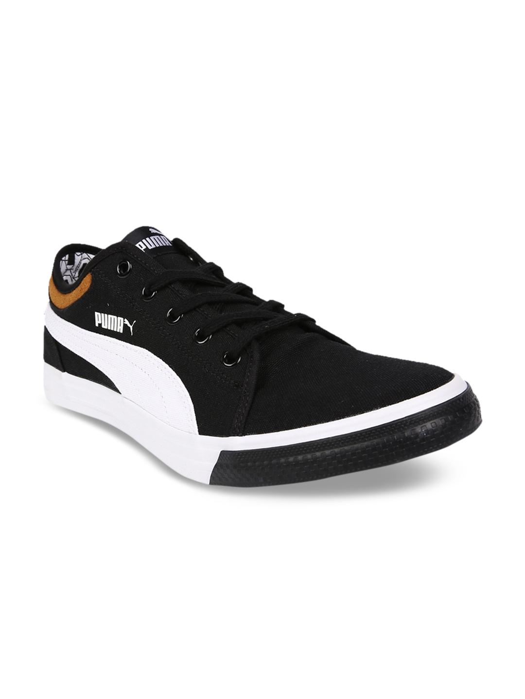 5d77489639a5 Buy Puma Men Black Yale Gum 2 IDP Sneakers - Casual Shoes for Men ...