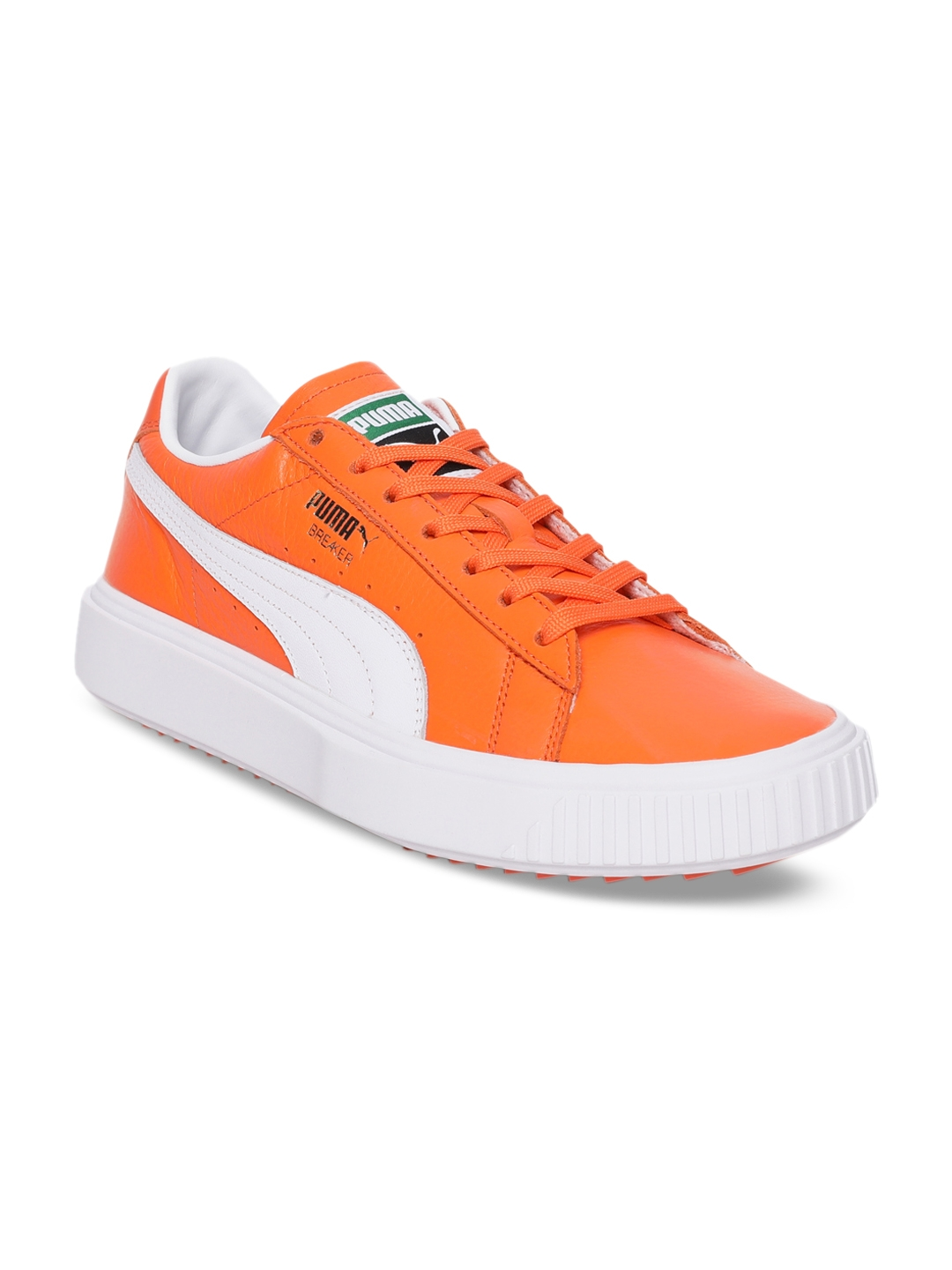 1f677b4d0f9c04 Buy Puma Unisex Orange Leather Sneakers - Casual Shoes for Unisex ...