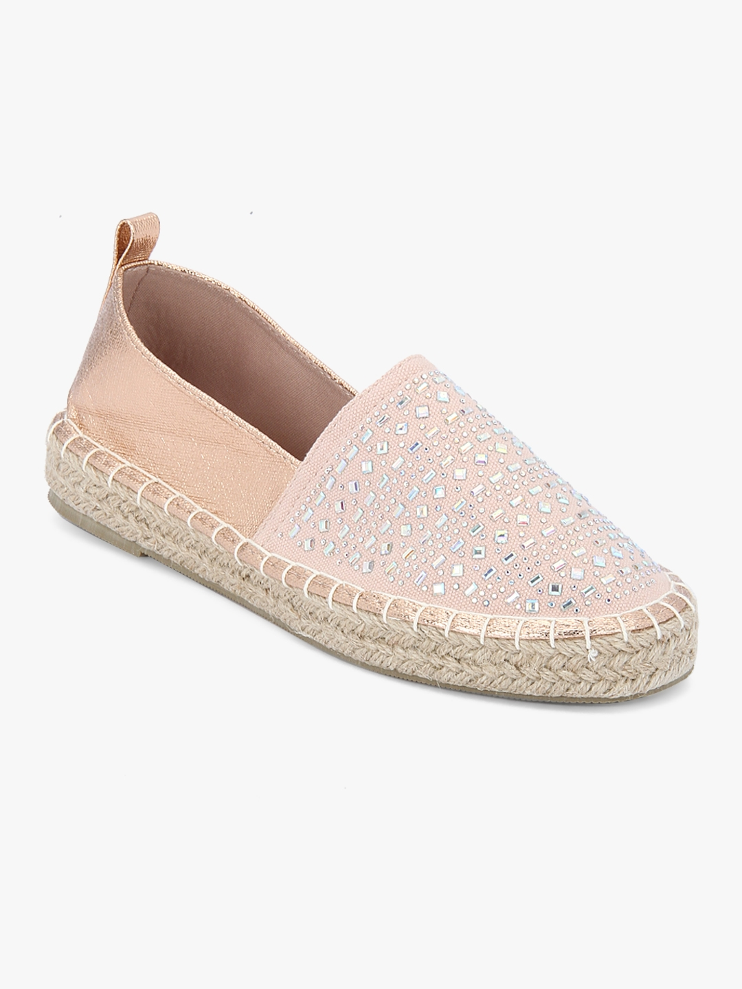 f6843aef2 Buy Pizzaz Gold Espadrilles Casual Moccasins - Casual Shoes for ...