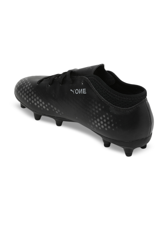 the best attitude a4c1c 2fe91 Puma Boys Black ONE 4 Syn FG Jr Football Shoes