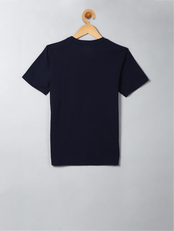 b3bb95f07c68 Buy GAP Navy Blue Boys Gapfit Kids Graphic T Shirt - Tshirts for ...