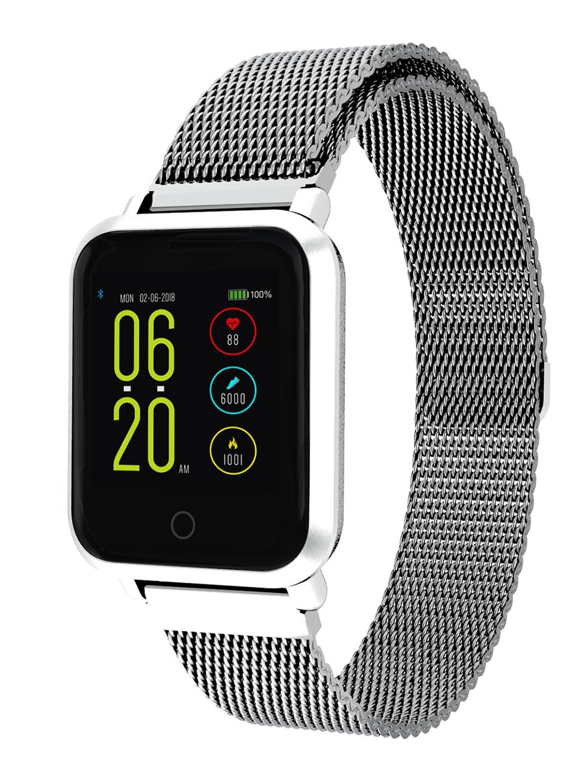 92c3164ef Buy Noise Unisex Colorfit Pro Smartwatch Luxe Metal Silver - Fitness ...