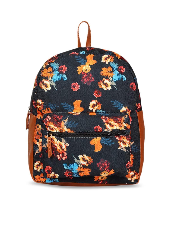 Lychee bags Women Black Backpack