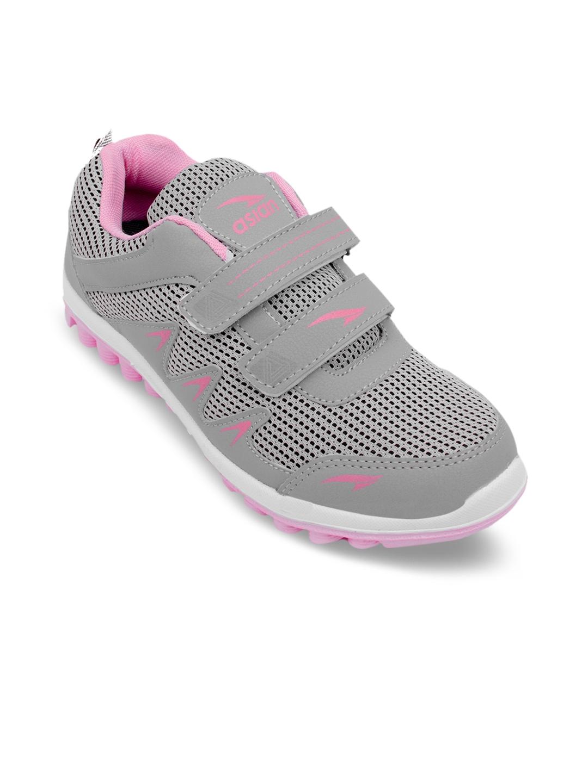 d9ffa9ed3e9f5d Buy ASIAN Women Grey Running Shoes - Sports Shoes for Women 8079071 ...