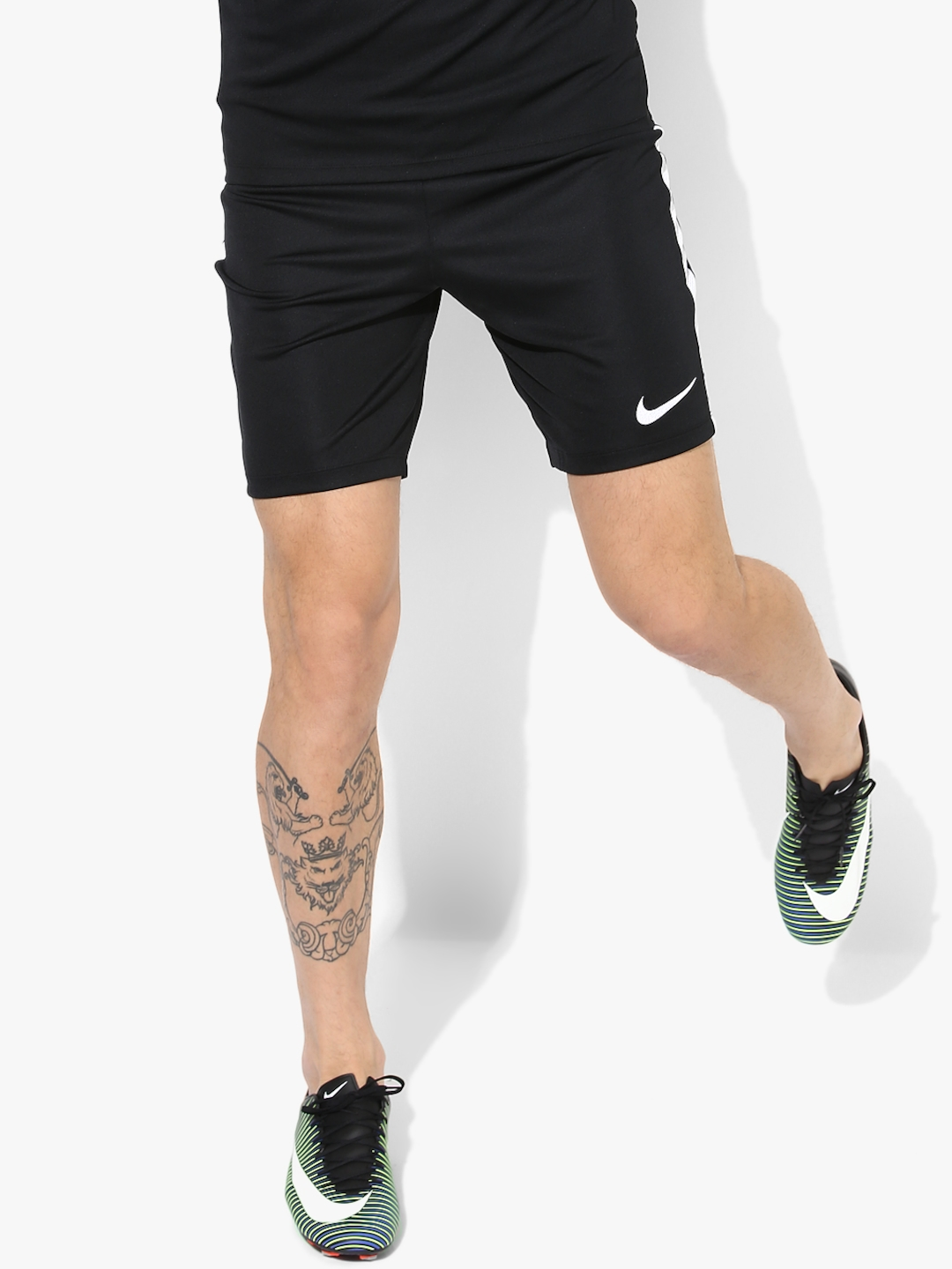 As Dry Acdmy K Black Football Shorts Nike Shorts