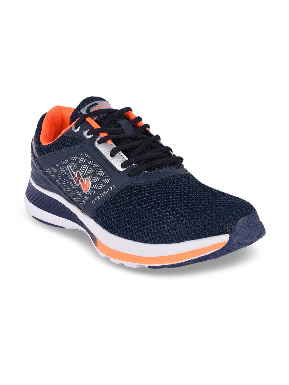 promo code f7b60 8b6a8 Campus Men Wind Navy Blue Running Shoes