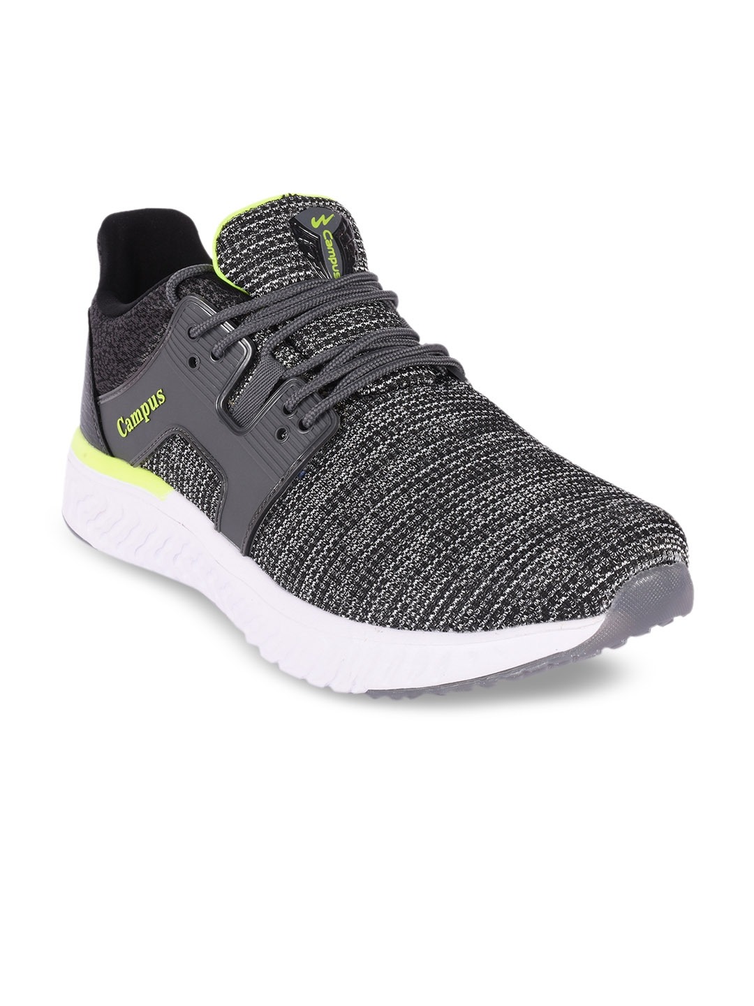 4f653bb96cf3 Buy Campus Men Iconic Grey Running Shoes - Sports Shoes for Men ...