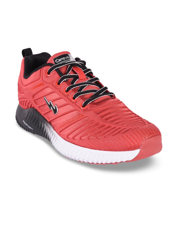 Campus Men Philip Rust Red Running Shoes