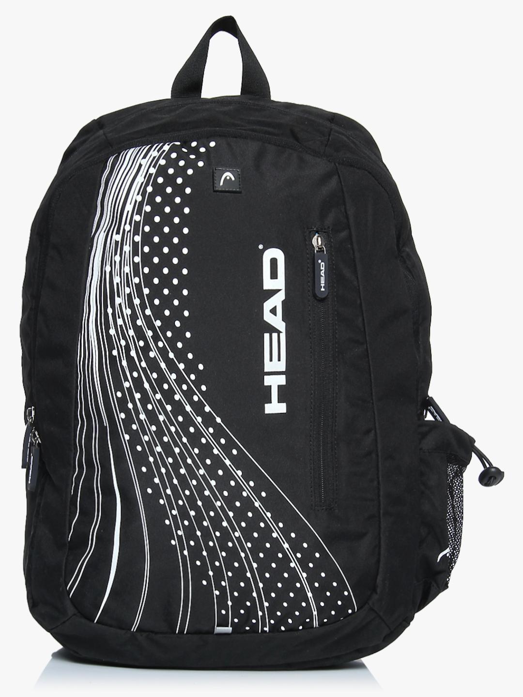 14 Inch Sprint Black Backapck Head Backpacks