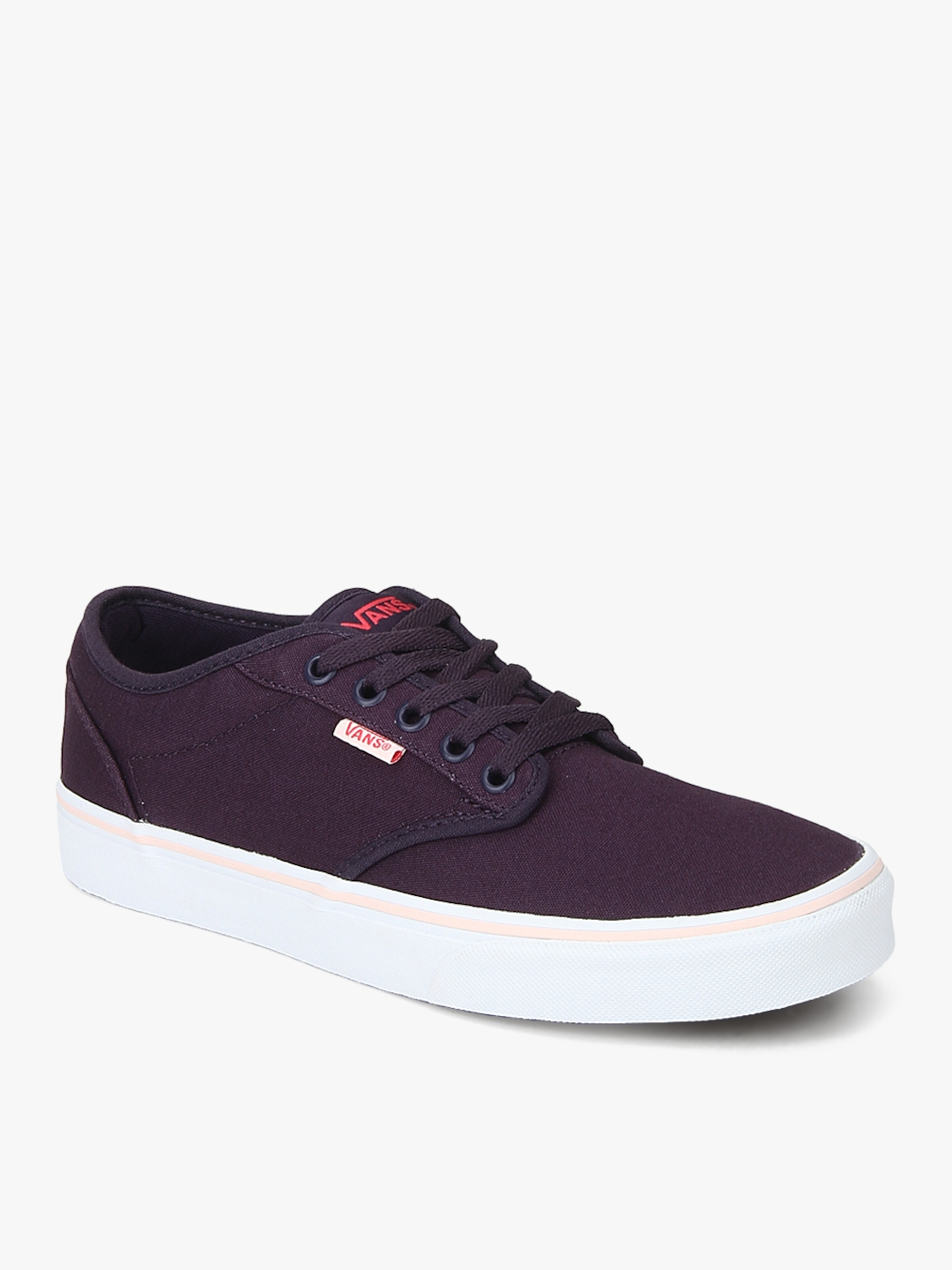 66c658e4ec Buy Vans Women Purple Atwood Sneakers - Casual Shoes for Women ...
