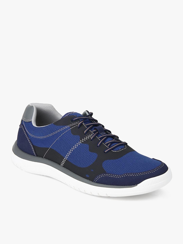 dc40fc6f673 Buy Clarks Men Votta Edge Blue & Black Sneakers - Casual Shoes for ...