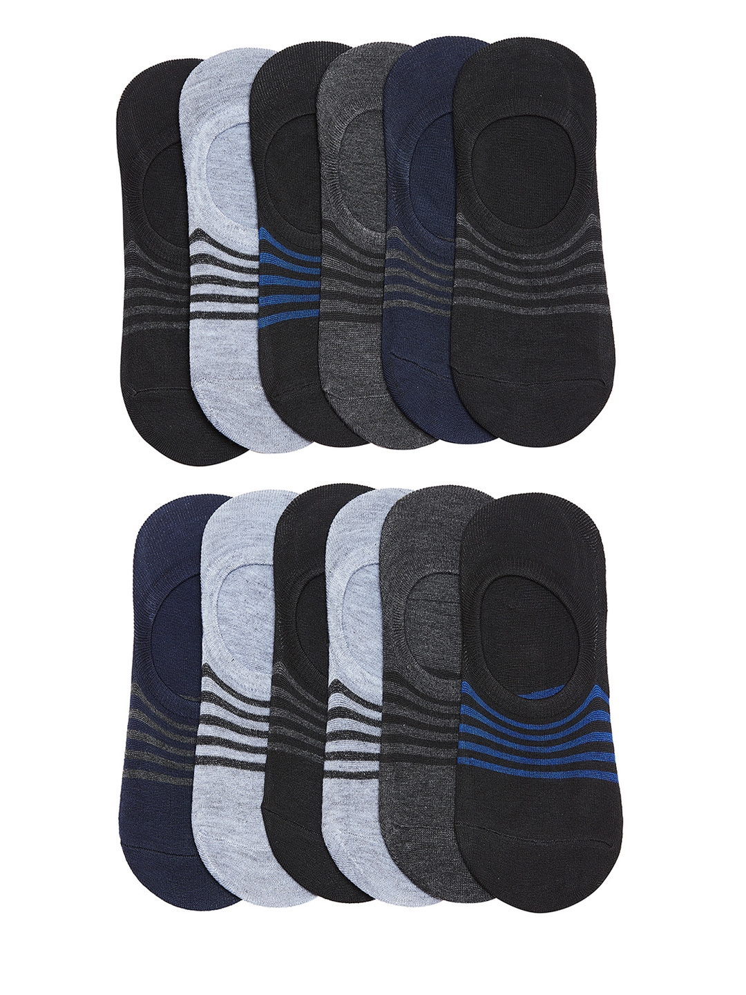 Camey Men Pack of 12 Shoe Liners