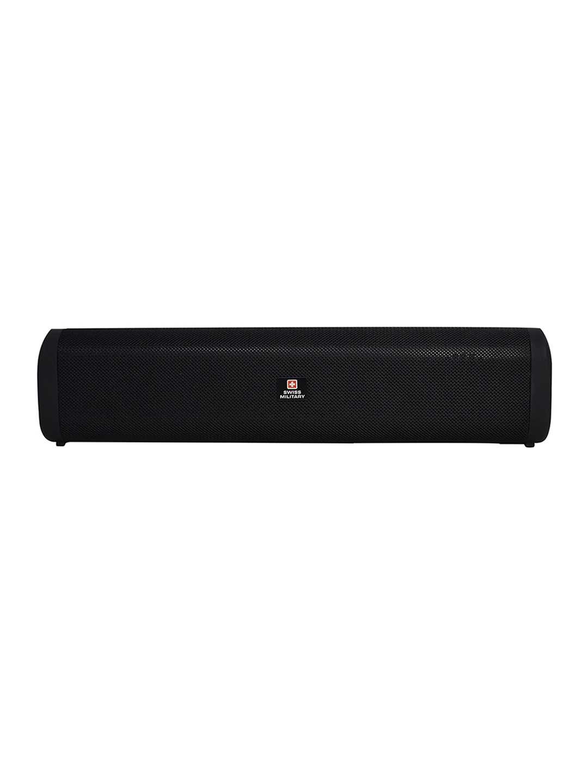 SWISS MILITARY Black BL15 Bluetooth Speaker