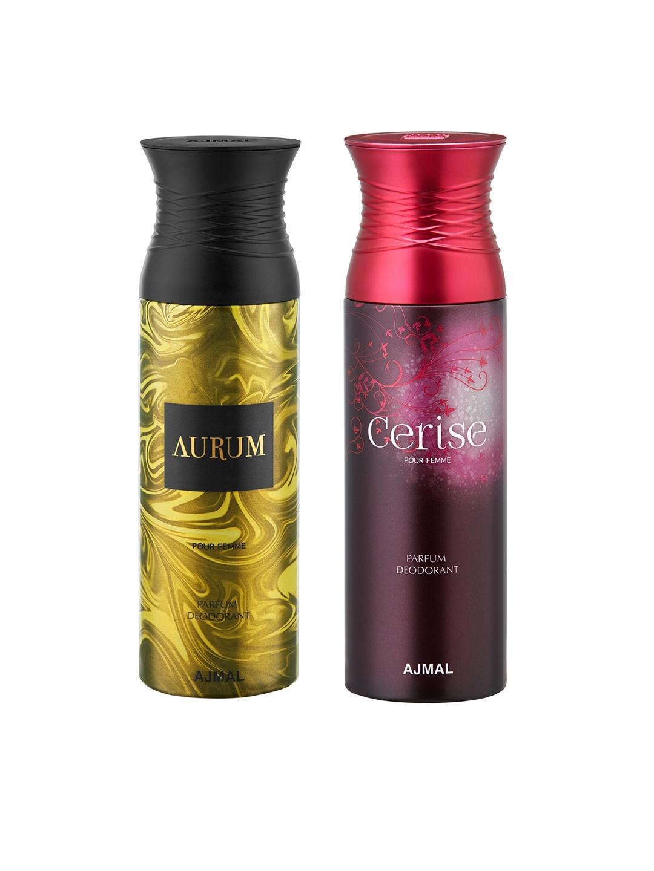 Buy Ajmal Women Set Of 2 Aurum Cerise Deodorants 200ml Deodorant
