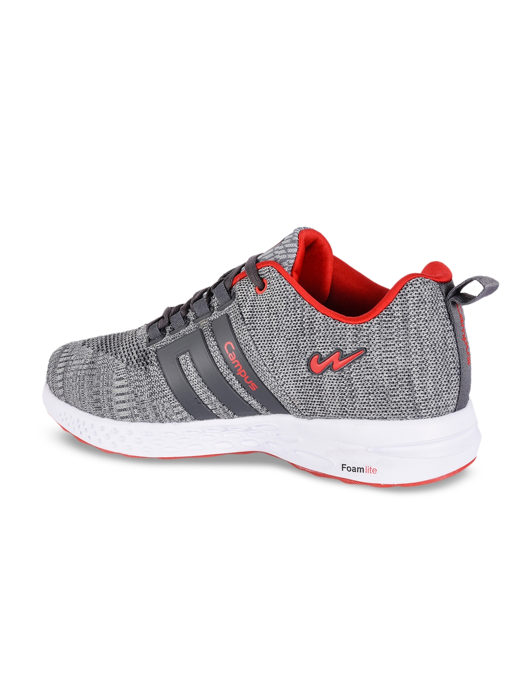 Buy Campus Men Grey NASA Running Shoes - Sports Shoes for Men ... e3efa8463