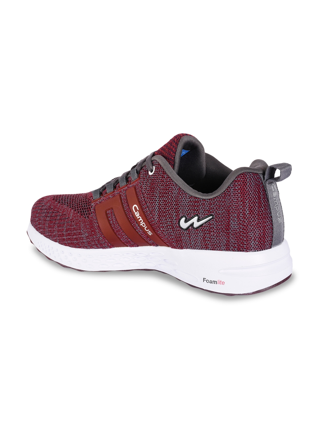 Buy Campus Men Maroon NASA Running Shoes - Sports Shoes for Men ... 9a5af531d