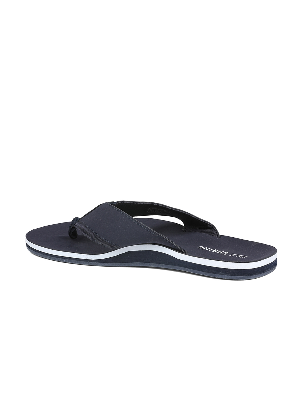 b458b68ef93e Buy Call It Spring Men Navy Blue Solid Thong Flip Flops - Flip Flops ...