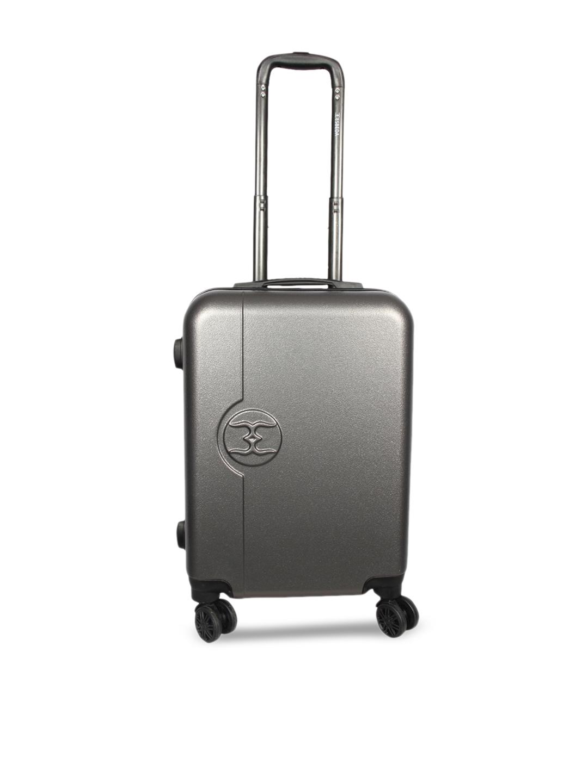e7a6b6abe5 Buy ESBEDA Grey Cabin Medium Trolley Bag - Trolley Bag for Unisex ...
